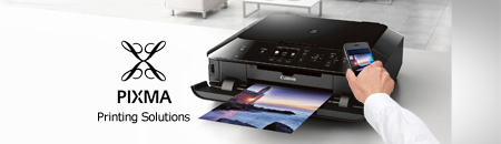 Print anything from anywhere with our PIXMA Printing Solutions for your home and office. It couldn't be easier!