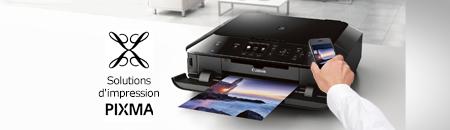 Imprimez ce que vous voulez de n'importe où grâce à notre application PIXMA Printing Solutions pour la maison et le bureau. Ce ne pourrait être plus facile.