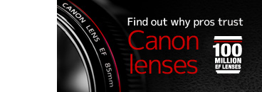 Designed to meet the exacting standards of professional photographers, see how Canon EF Lenses provide the cutting-edge technologies that answer their needs.